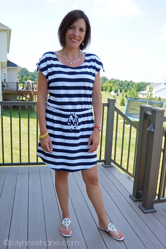 casual-striped-dress