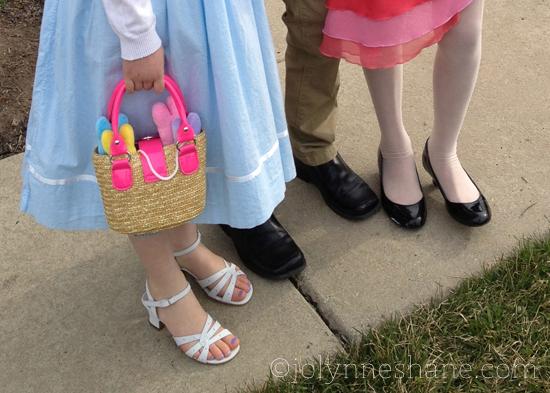 kids in heels