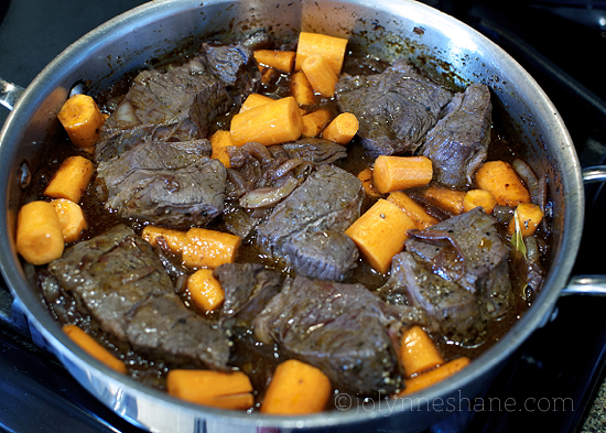 short ribs in the oven