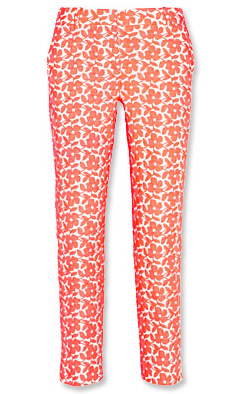 Cafe Embroidered Capri Pants