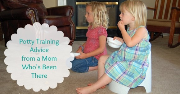 Potty Training Advice from a Mom Who's Been There!