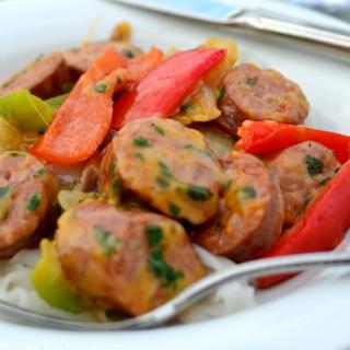 Kielbasa & Pepper Pasta