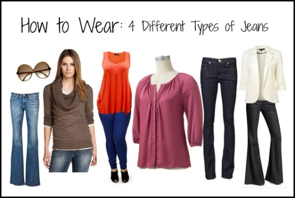 How to Wear: 4 Different Types of Jeans