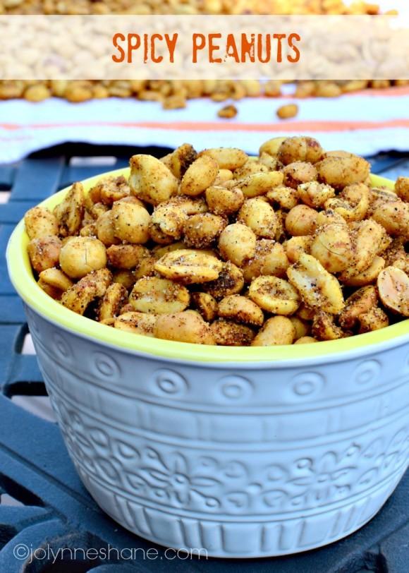 spicy peanuts snack recipe