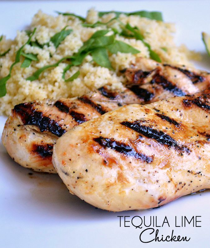 Tequila Lime Chicken: The perfect summer grilling marinade recipe!
