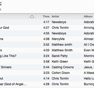 My Christian Music Running Playlist
