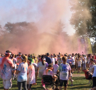 Color Run Tips {and My Color Run Experience}