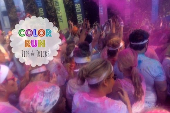 color run tips