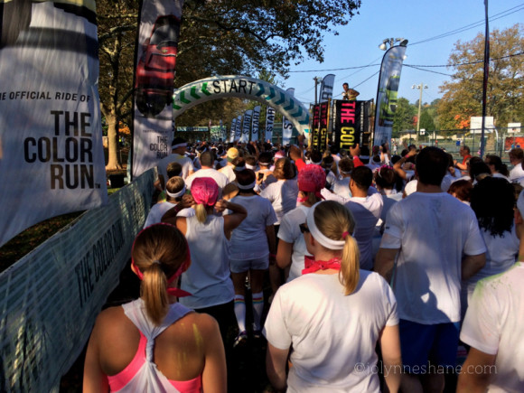 color run start line