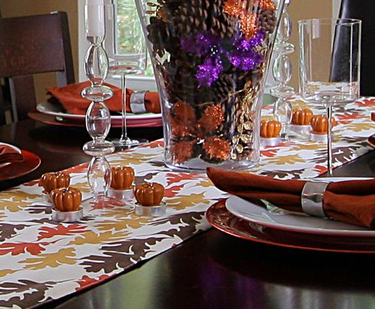 Easy DIY Fall Table Decor Idea