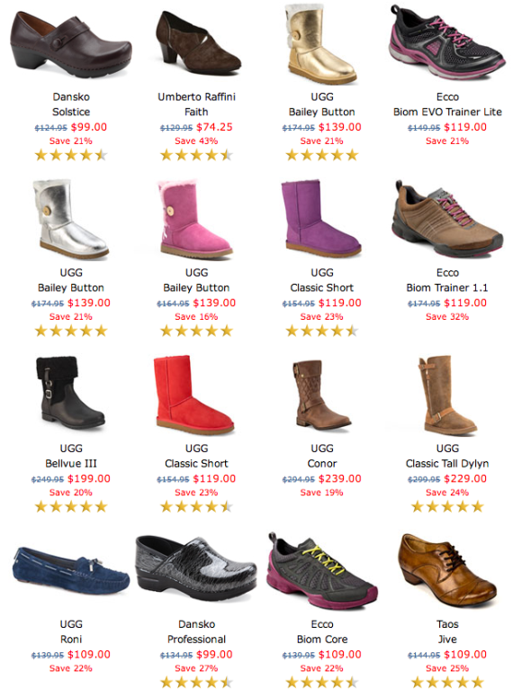 Weekend Sale at The Walking Company