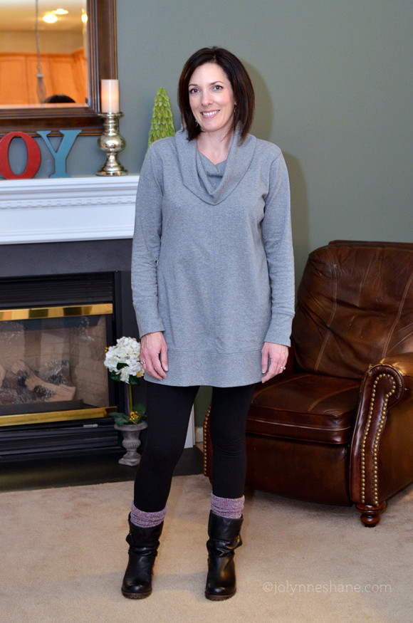 Tunic, Leggings and Ankle Boots