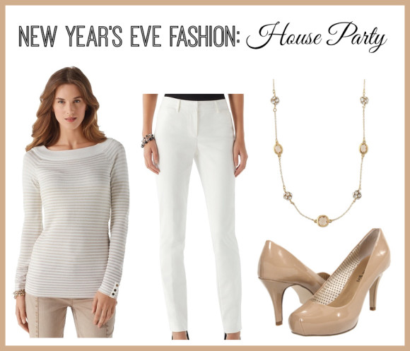 New Years Eve Fashion house party