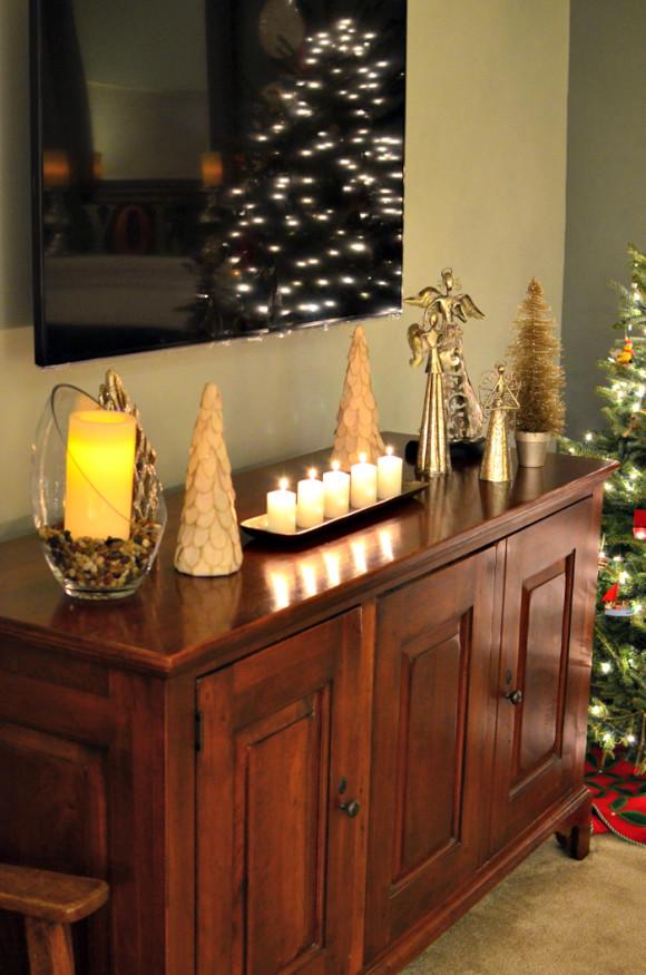 holiday house tour. Black Bedroom Furniture Sets. Home Design Ideas