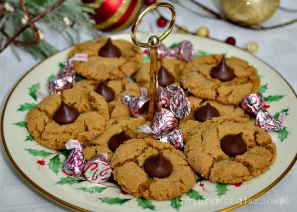 hershey kiss cookies
