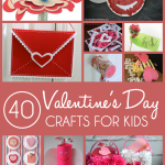 40 Valentine Crafts for Kids
