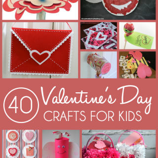 40 Homemade Valentine Crafts for Kids + 5 Bonus Craft Kits