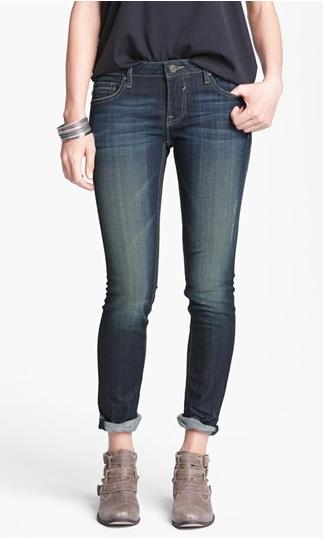 Vigoss 'Thompson Tomboy' Skinny Crop Jeans