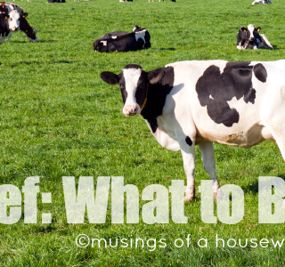 Beef: What To Buy
