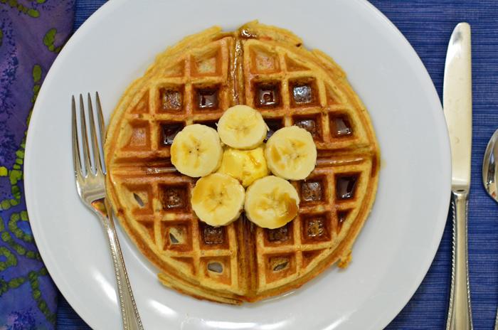 cinnamon-banana-belgian-waffles