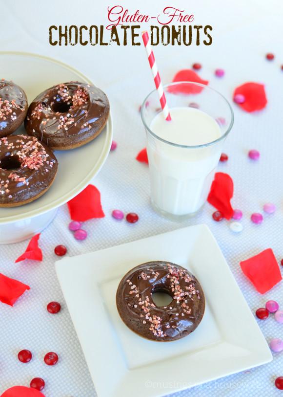 Gluten-Free Chocolate Donuts