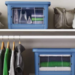 Front Access Storage with Rubbermaid