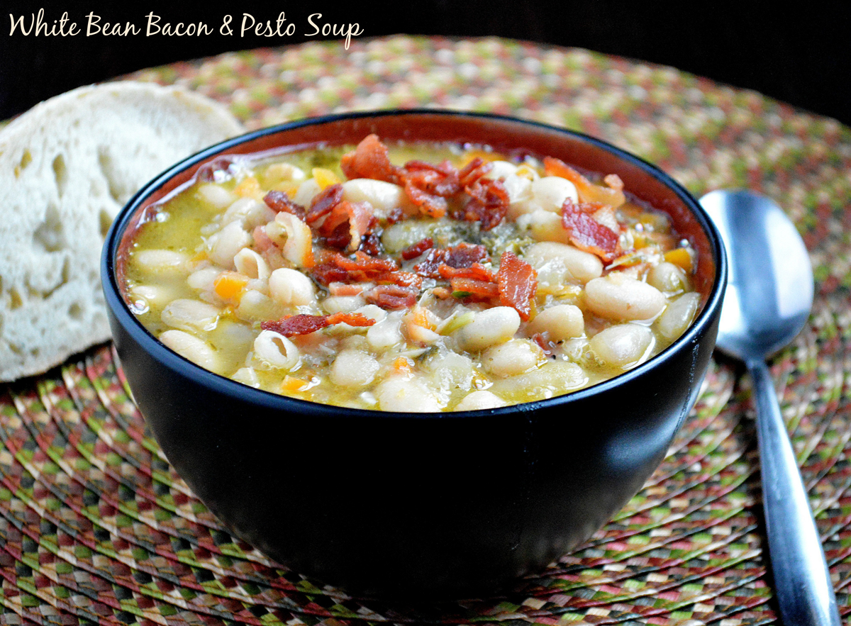 Real Food Recipe | White Bean Bacon Soup Recipe