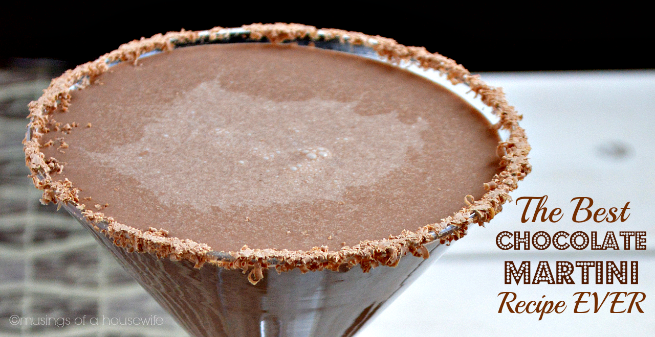 The BEST Chocolate Martini Recipe EVER
