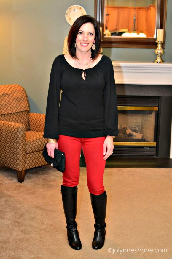 fashion over 40: date night outfit