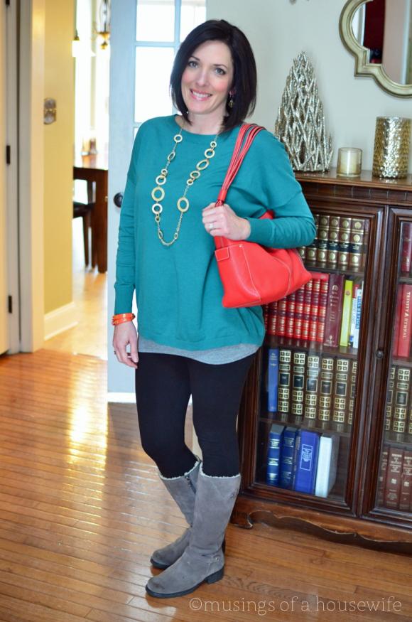 leggings-and-tunic-sweater