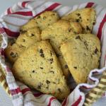Gluten-Free Chocolate Chip Cream Scones