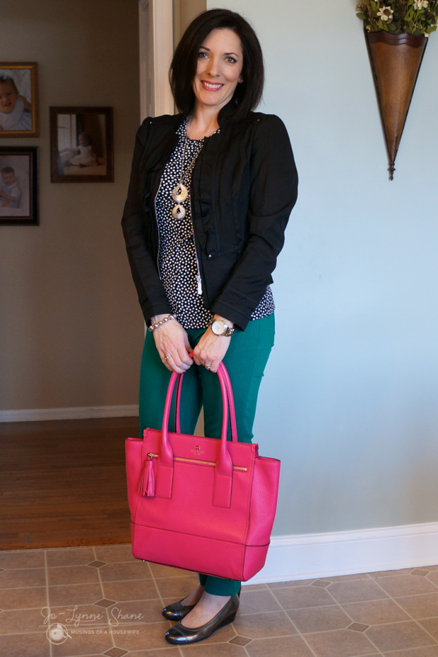 black-jacket-pink-bag-front