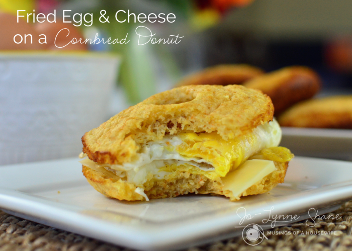fried-egg-and-cheese-cornbread-donut