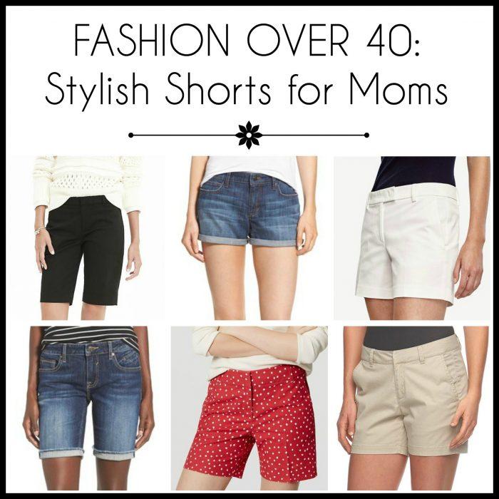 Fashion Over 40: Stylish Shorts for Moms