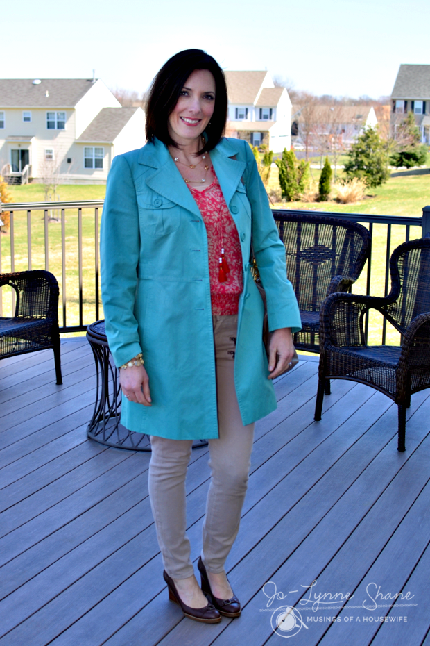 teal trench