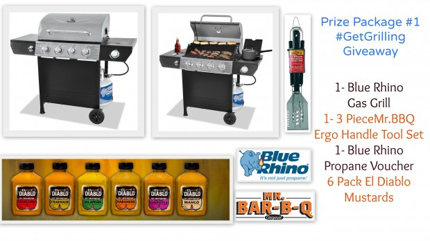 Prize Package #1 #GetGrilling Giveaway