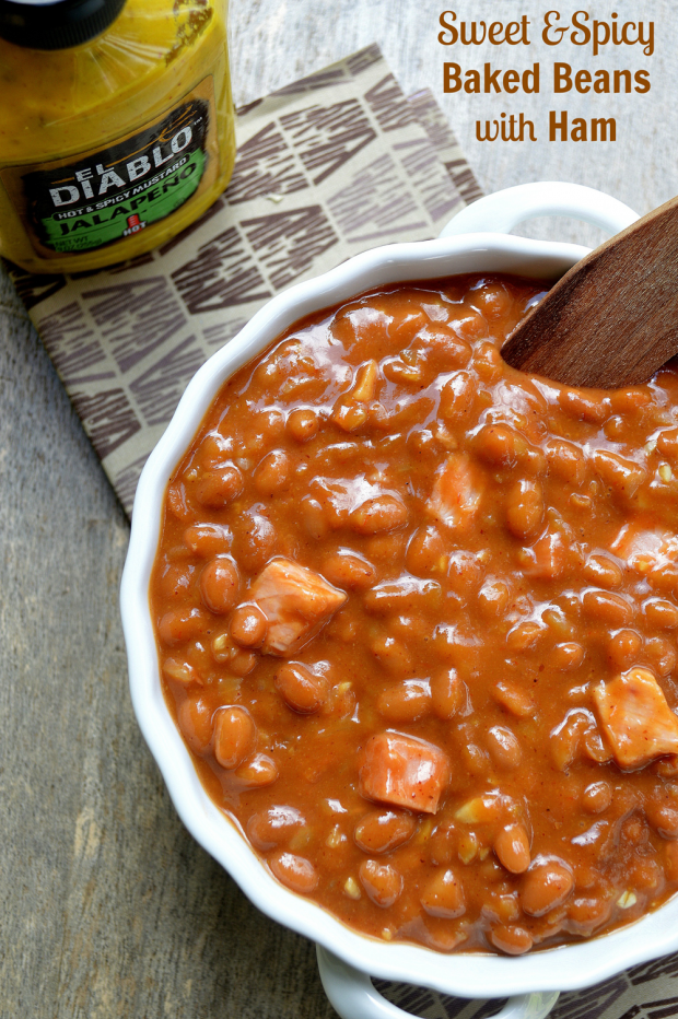 Spicy Red-Eye Baked Beans Recipe — Dishmaps