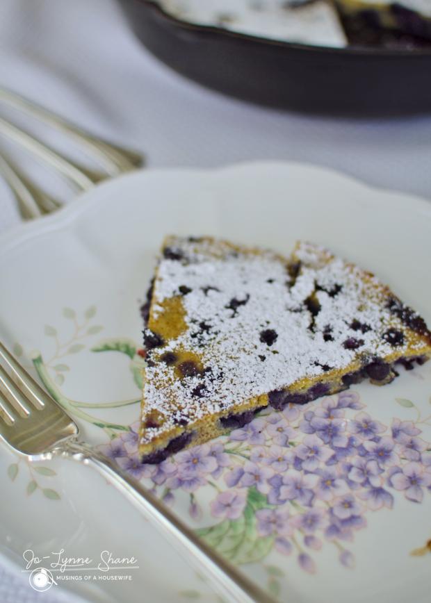 Blueberry Dutch Baby Recipe 7