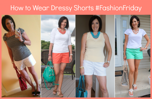 how to wear dressy shorts