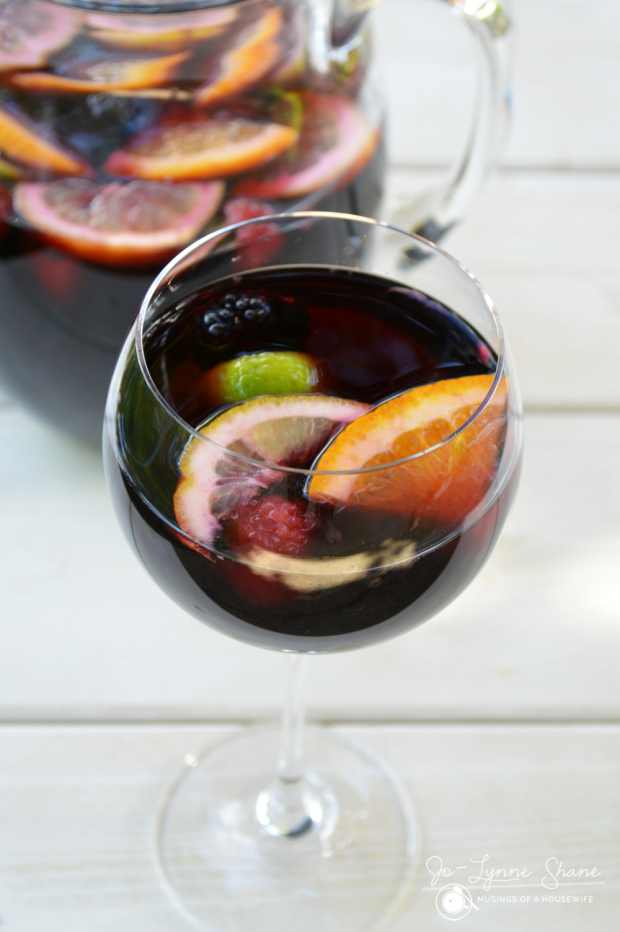 Berry Sangria Recipe with Chambord