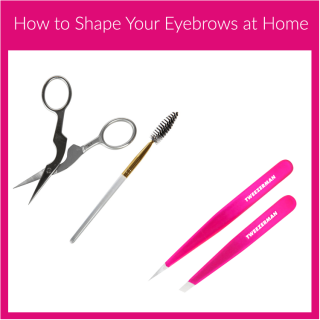 How to Shape Your Eyebrows at Home #BeautyBuzz