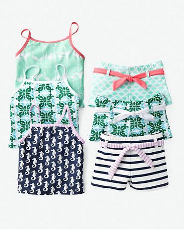 modest swimsuits for girls at Garnet Hill