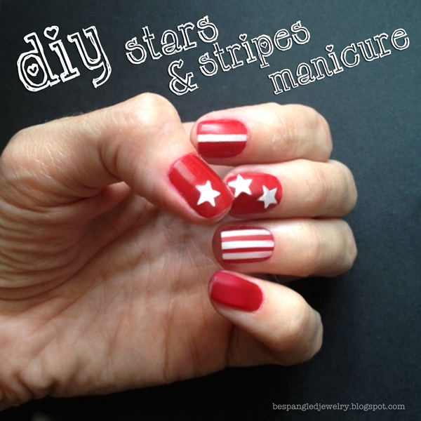 stars & stripes manicure