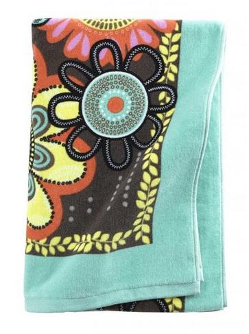 Beach Bag Essentials: Vera Bradley Beach Towel