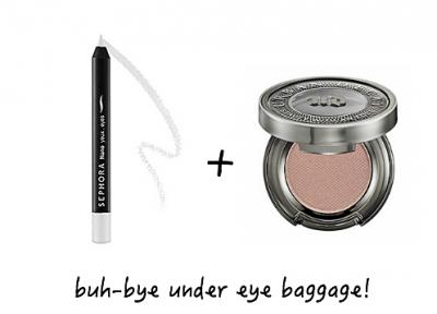 hide under eye baggage