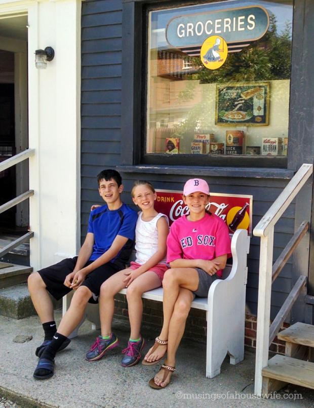 kids at strawbery banke