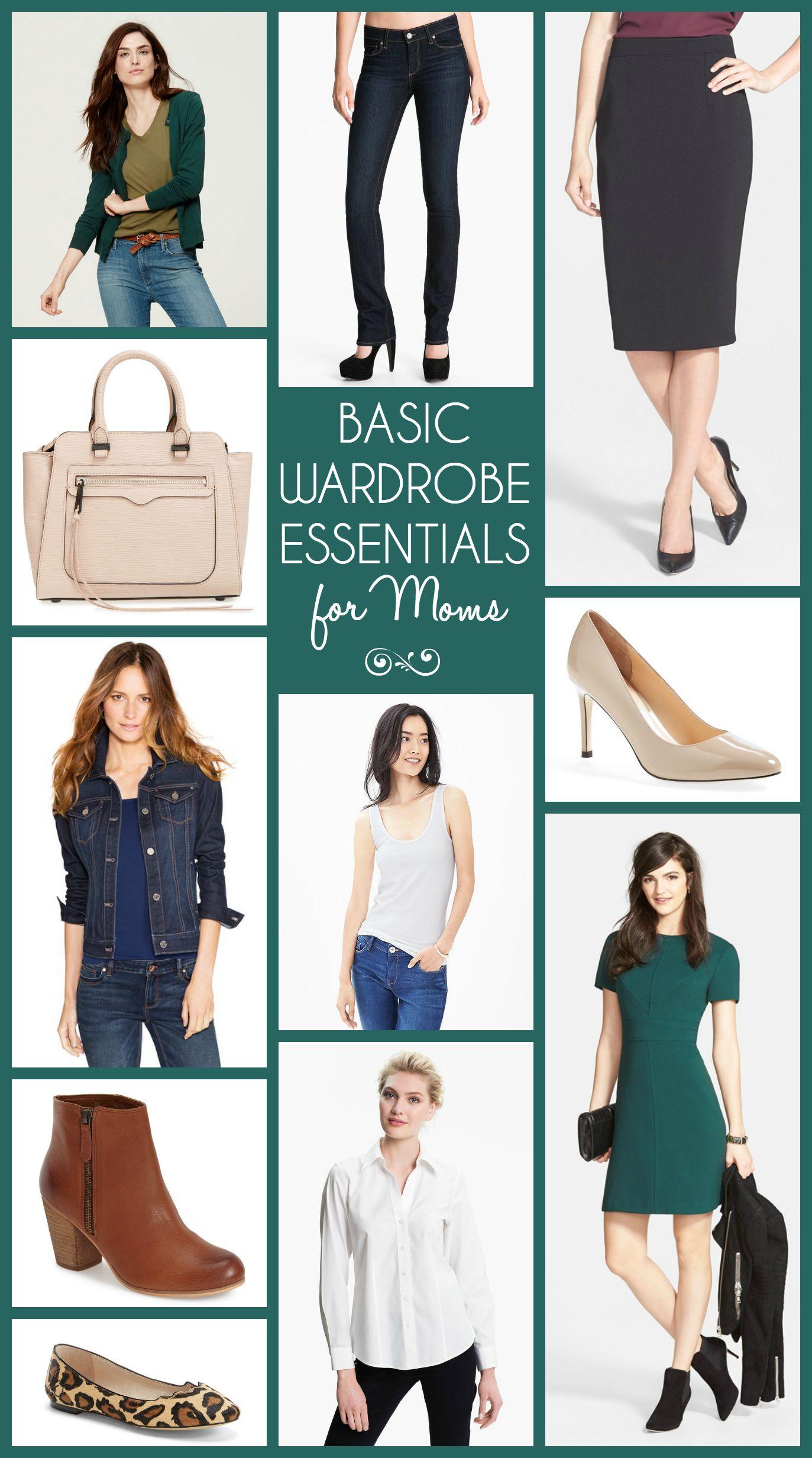 10 Basic Wardrobe Essentials For Moms