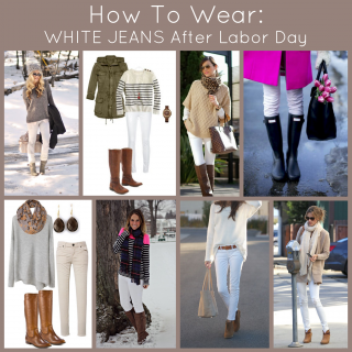 Don't Pack Those White Jeans Away!