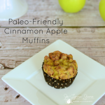 Paleo-Friendly Apple Cinnamon Muffins