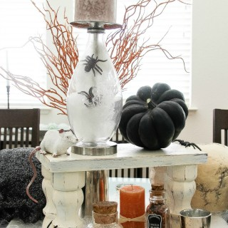 Halloween Centerpiece Idea: Perfect for a Dinner Party